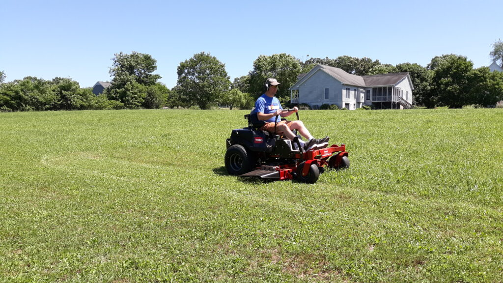 cville mowing service